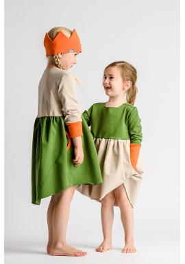 Dvojfarebné šaty